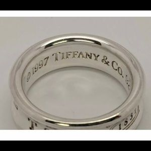 Tiffany & Co 6.8MM Concave Ring